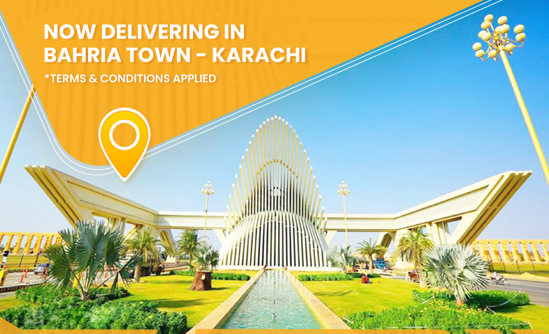 Delivering in Bahria Town